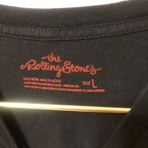 the rolling stones Shirts - Rolling Stones Logo Graphic Tee